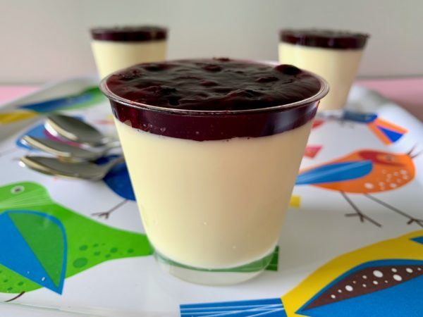 Panna Cotta Blueberry